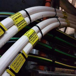 141 Queen Street Blown Fibre Optical Fibre Commerical Fitout