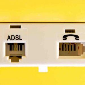 ADSL phone wall socket