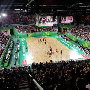 CGGC2018 Commwealth Games Gold Coast Basketball Netball Network Cabling Communications Network Infrastructure