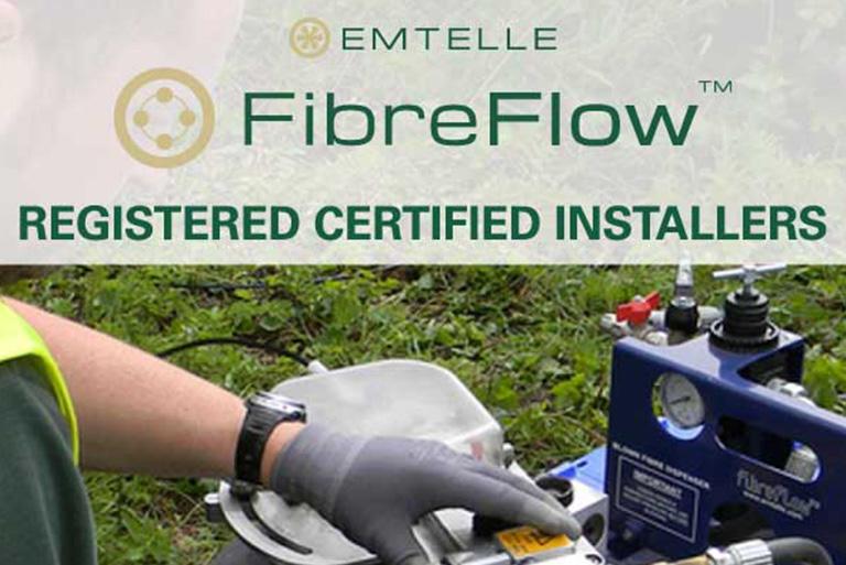 Fibrelink Emtelle blown fibre equipment