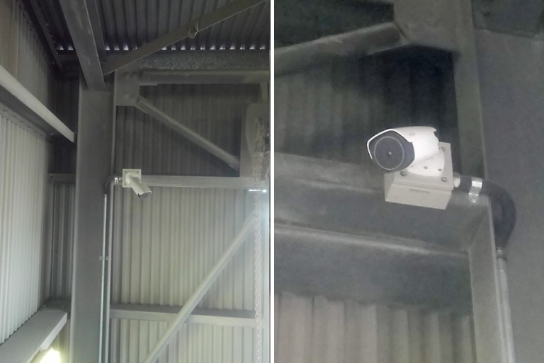 Sunstate Cement Thermal Camera CCTV Security Fire Safety
