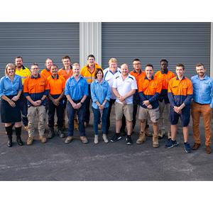 All Data Communications Team Photo